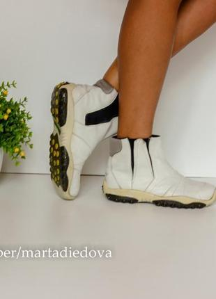 Кожаные анатомические ботинки полусапожки кроссовки кросы-чулки, бренд diesel оригинал