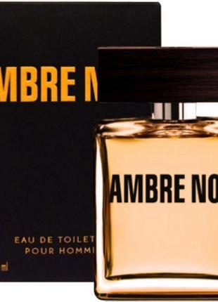 Новая парфюмированная вода ambre noir 50мл ив роше черная амбра yves rocher