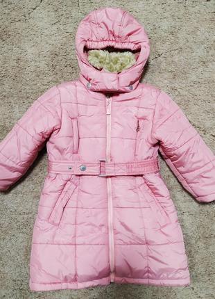 Теплое пальто пуховик outburst