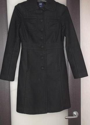 Элегантное пальто 70% шерсть1