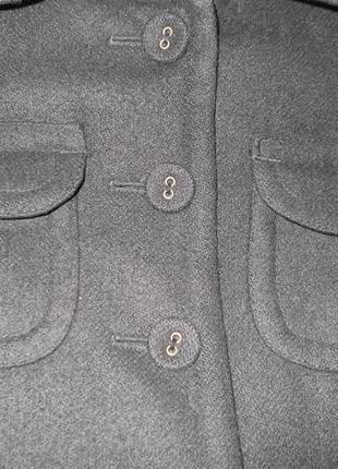Элегантное пальто 70% шерсть5