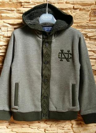Теплый кардиган/пуловер/кофта mayoral (испания) на 7-8 лет (размер 128)