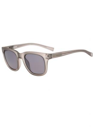 Cерые матовые  солнцезащитные очки calvin klein4 фото