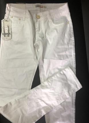 Белые штаны g-smack