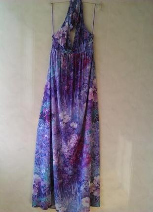 Сказочное платье 👗👒/сарафан в пол с разноцветным💥💝 цветочным 👚🌸💐принтом zara collection