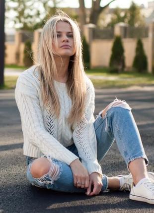 Стильные джинсы мом для юной модницы!