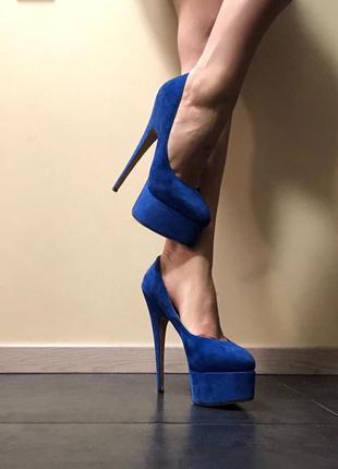 Новые замшевые туфли sexy fairy