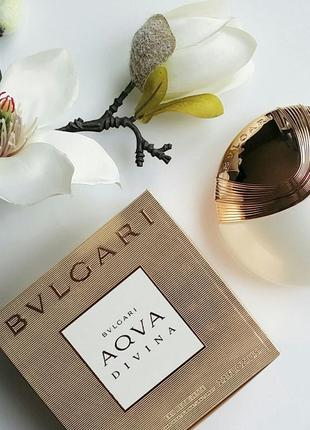 Bvlgary aqva divina булгари аква дивина дивайна туалетная вода булгари духи оригинал
