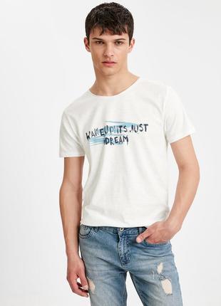 Lcw чоловіча футболка мужская турецкий бренд lc waikiki вайкики 1649