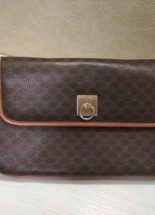 Celine vintage сумка клатч номерной винтаж аутентичная