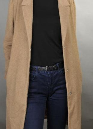 Нереально крутое пальто-оверсайз, цвет кемел