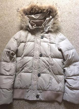 Куртка зимняя на натуральном пуху