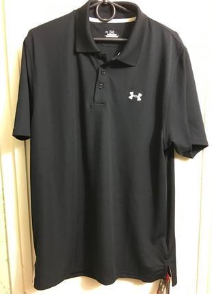 Мужское поло under armour  m-l новая футболка мужская оригинал недорого новая