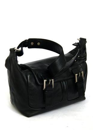 Betty barclay. германия. дизайнерская кожаная сумка на плечо.