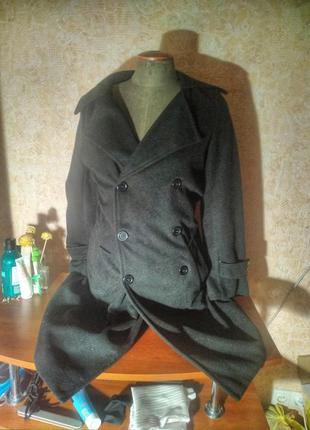 Мужское теплое пальто