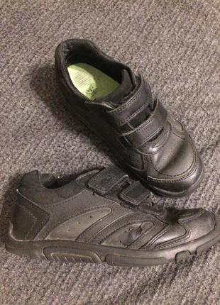 Clarks школьные туфли-кроссовки кожаные