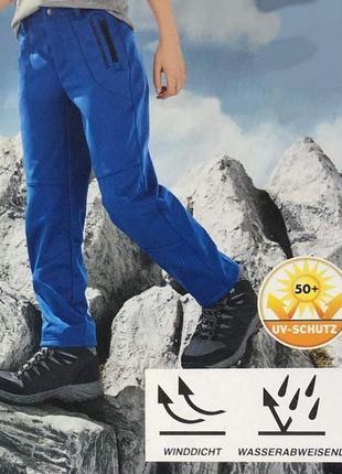 Брюки softshell, туристические штаны,  германия ( рост 122-128, 158-164)