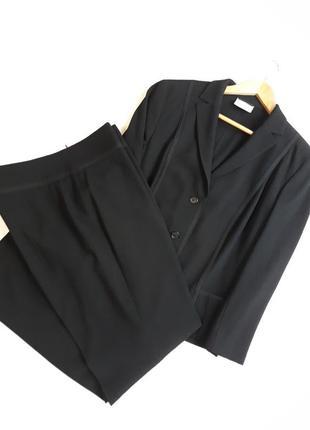 Akris punto люкс бренд фирменный#шерстяной костюм жакет#пиджак + брюки#штаны шерсть.
