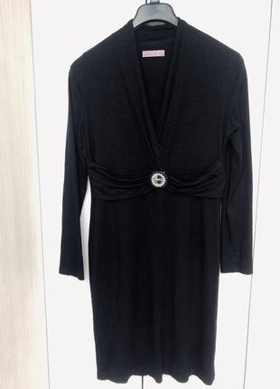 Нереально красивое платье с люрексом
