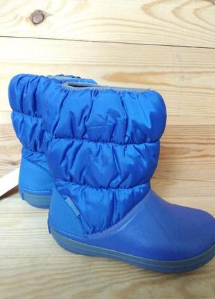 Crocs winter puff boot сапоги зимние, оригинал с13 j1 j2 j3