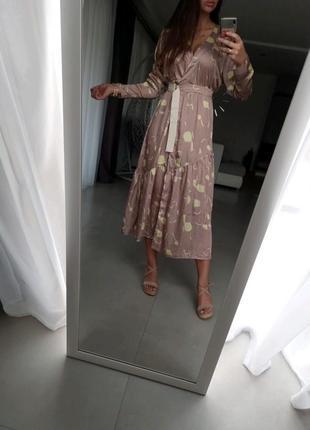 💎💖розпродаж колекції!asos элегантное платье на запах с принтом доставка сутки6 фото