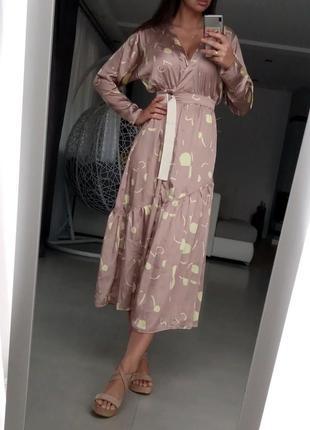 💎💖розпродаж колекції!asos элегантное платье на запах с принтом доставка сутки5 фото