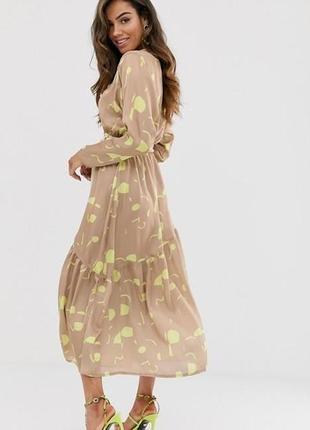 💎💖розпродаж колекції!asos элегантное платье на запах с принтом доставка сутки2 фото