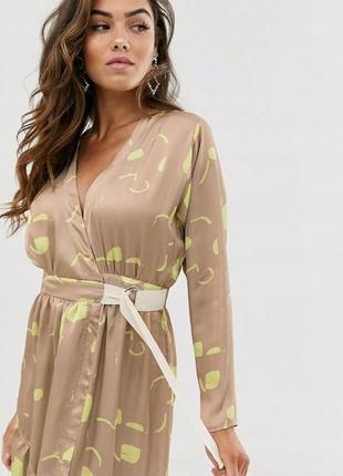 💎💖розпродаж колекції!asos элегантное платье на запах с принтом доставка сутки4 фото