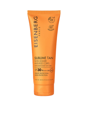 Eisenberg средство для загара для тела anti-ageing body sun care spf 30 - 100 мл