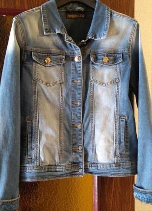 Джинсовый пиджачок