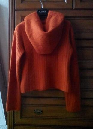 Шикарный свитер reserved (шерсть+ангора)