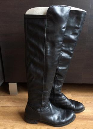 Braska кожаные сапоги выше колена