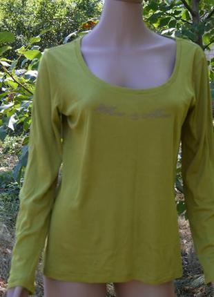 Зелёная футболка из хлопка фирмы more &more 38 (м)