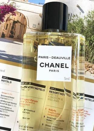 Chanel paris deauville_original_eau de parfum 5 мл_затест