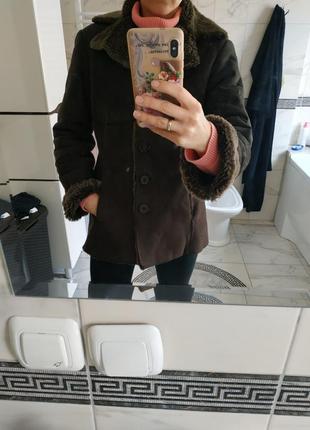 Дубленка куртка h&m