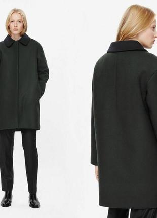 Пальто cos шерсть