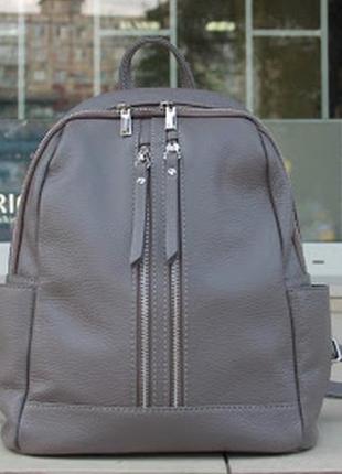 Оригинал италия женский городской рюкзак из натуральная кожи