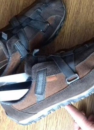 Рр 39-25 см оригинал стильные кроссовки от rieker замша