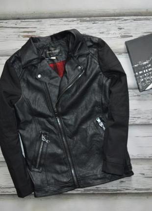 12 лет куртка кожанка косуха river island