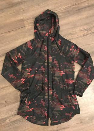 Reebok women jacket легкая куртка ветровка м