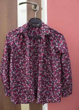 Блузка в квітковий принт