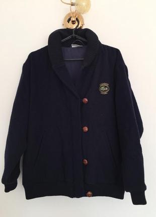 Стильний бомбер куртка lacoste, оригінал, вінтаж, оверсайз