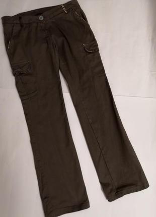 Брюки с карманами, размер 42