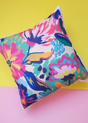 Декоративная подушка цветы, подушка маме киев, подарок девушке, подарок  учителю, жене