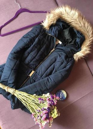 Куртка  теплая h&m в отличном состоянии