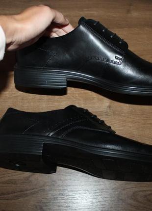 Кожаные туфли дерби ecco terracruise, 46, 44 размеры