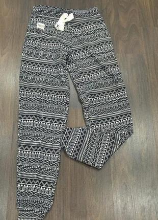 Теплые свободные серые штаны от new look