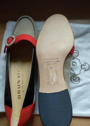 Стильные туфли brunate pp 37
