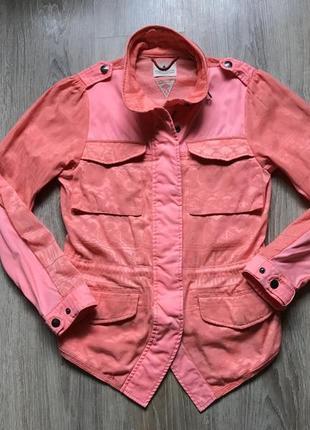 Куртка пиджак maison scotch хлопковая ветровка жакет тренч