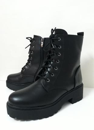 Акція !!! жіночі демісезонні черевики (ботинки) розмір 36, 37, 38, 40.